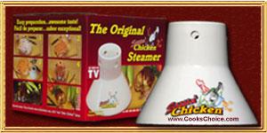 Cooks Choice Sittin' Chicken� Steamer 2707